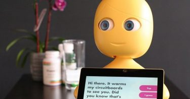 Meet Mabu the robot which helps patients manage chronic illness at home