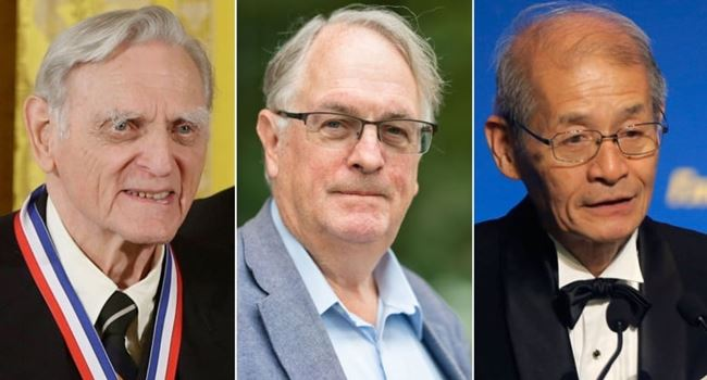 Three scientists jointly awarded 2019 Nobel Prize in Chemistry