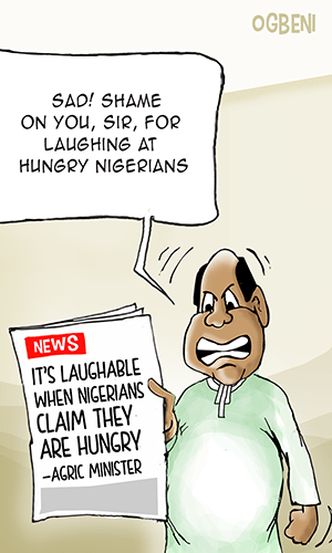 It's laughable when Nigerians claim they are hungry —Agric Minister