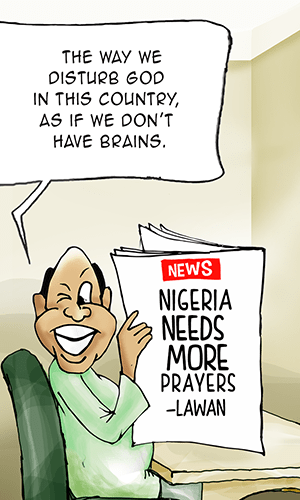 Nigeria needs more prayers—Lawan