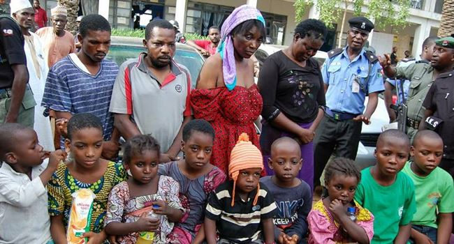 Police rescue nine children abducted in Kano, arrest six suspected human traffickers