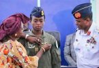 NAF makes history, wings first female fighter pilot