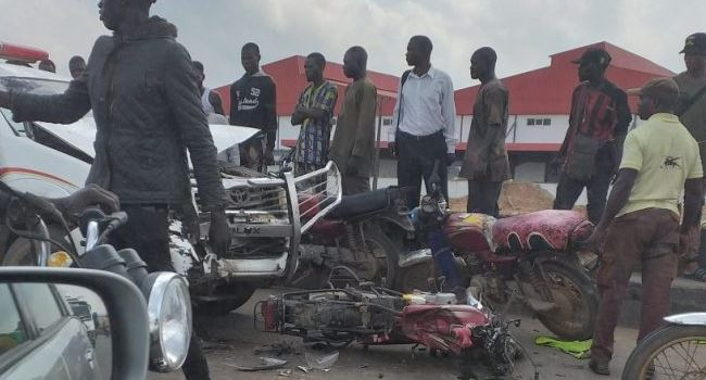 Three motorbike riders killed in road accident along Lagos-Ibadan expressway