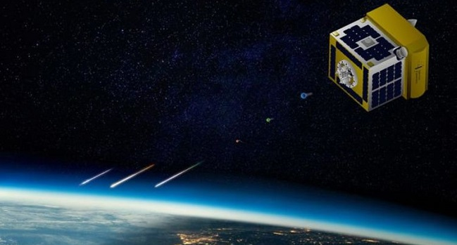 Japan develops world's first satellite which could fire artificial 'shooting stars' into the sky