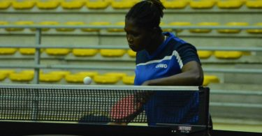 Nigeria's Fatimo Bello in Abidjan