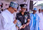 I'll bequeath to Nigeria a modernised, motivated police force, Buhari promises