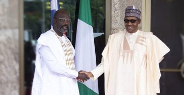 Buhari, Weah, 3 others hold bilateral meeting in Abuja