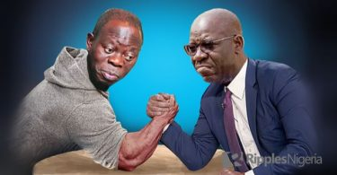 EDO: Again, Oshiomhole, Obaseki groups set to clash over planned reception for Ize-Iyamu