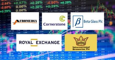 Royal Exchange, Cornerstone, Int'l Breweries top Ripples Nigeria Stock watchlist