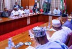 APC CRISIS: After meeting with govs, Buhari meets Oshiomhole, APC state chairmen