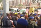 NIPOST workers protest govt move to cede collection of stamp duty to FIRS