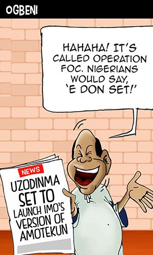 Uzodinma set to launch Imo's version of Amotekun