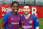 asisat oshoala and lionel messi