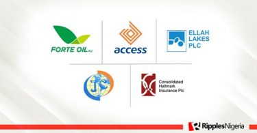 Forte Oil, Consolidated Hallmark top Ripples Nigeria Stock Watch list