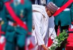 AFRDC 2020: Buhari lays wreath for fallen heroes