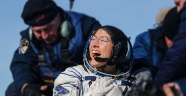 US astronaut returns to Earth after longest space mission by woman