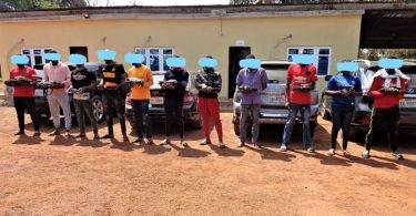 INTERNET FRAUD: EFCC arrests 11 suspects in Enugu