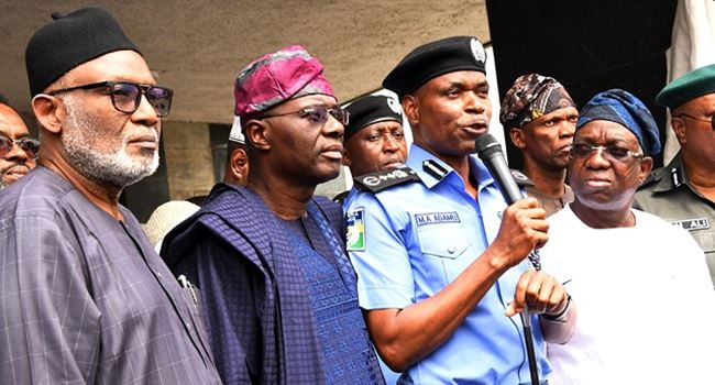Southwest govs, IG finally agree on Amotekun