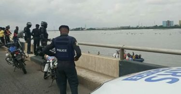 Man rescued by police from jumping into Lagos Lagoon reveals his motive