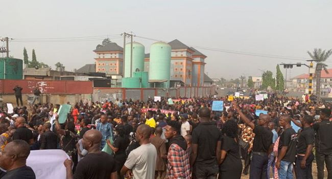 IHEDIOHA: Imo State House of Assembly bans protest