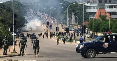 Sagamu erupts in violence, as police kill footballer, one feared dead