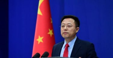 Chinese Foreign Ministry spokesman, Zhao Lijian