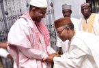 JUST IN... Gov El-Rufai meets with deposed Emir Sanusi
