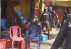 Lagos police says it has arrested officers caught on camera destroying traders' goods over Covid-19