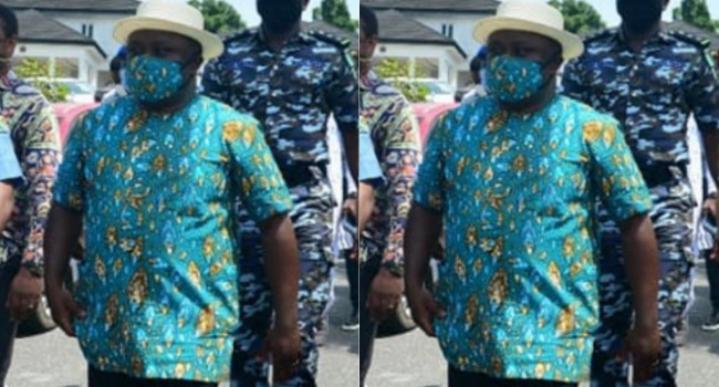 Face mask protects you from COVID-19, Ayade claims, says you don't need social distancing (Video)