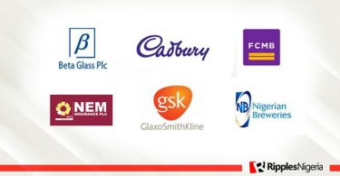 Beta Glass, Cadbury, FCMB top Ripples Nigeria stock watchlist
