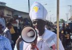 Archbishop Benjamin stages one man protest against 5G Tech in Nigeria