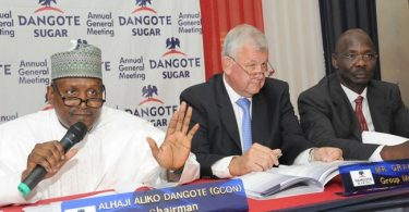 Dangote Sugar's Q1 profit sheds N632m despite bigger revenue amidst spiralling production cost