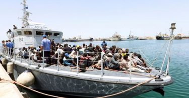Hundreds of migrants detained by Libyan coastguards in last two days -UN