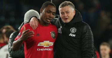 Ole Solskjaer and Odion Ighalo