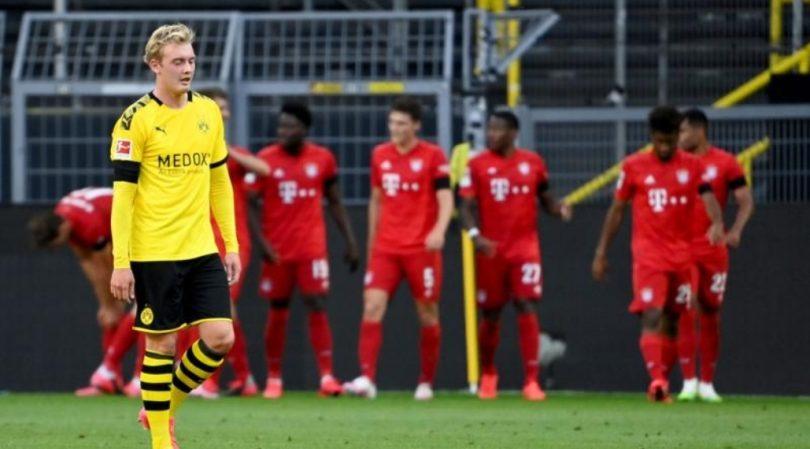 Dortmund Bayern Supercup 2020