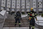 Double tragedy, as fire kills 5 Covid-19 patients in Russia