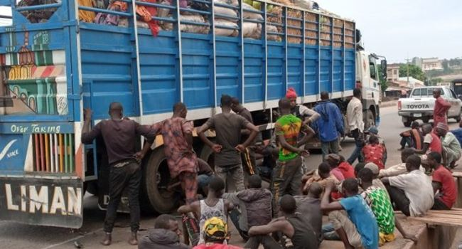 40 people travelling from Kano to Lagos intercepted in Niger