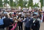 JUST IN: Angry protesters storm APC Secretariat, demand sack of party NWC