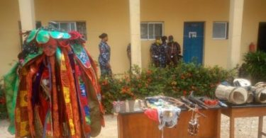 Masquerade, 6 others arrested in Osun