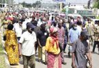 Pensioners protest in Imo, say '42 of our members have died of hunger'
