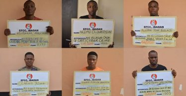Court jails six 'Yahoo' boys in Ibadan