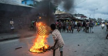 Anti-lockdown protests escalates in Madagascar after alleged police violence