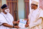 Gov Akeredolu visits Buhari, says he's sure of second term victory