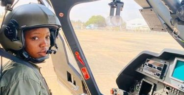 NAF loses first ever female combat helicopter pilot