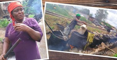 SPECIAL REPORT.... Women who risk health, death to transform palm kernel chaff into useful products