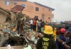 Lagos collapsed building