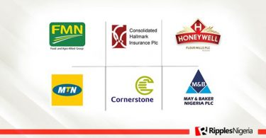 Flour Mills, Cornerstone, Consolidated Hallmark top Ripples Nigeria stocks watchlist