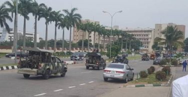 #RevolutionNow protesters reportedly arrested in Abuja