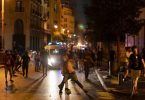 Protests in Lebanon over arrest of 16 people