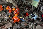 INDIA: Eight feared dead, 25 others trapped in building collapse